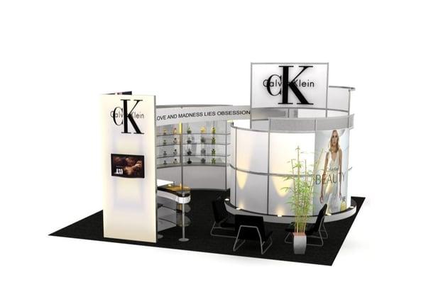 Trade Show Exhibit Installation