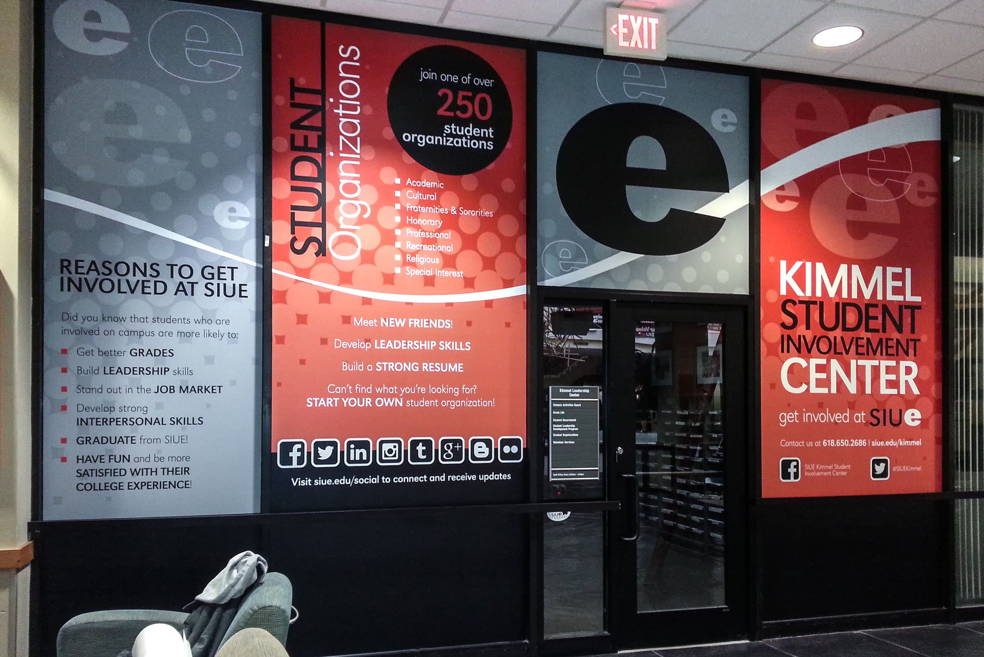 Custom Vinyl Graphics: Window Graphics