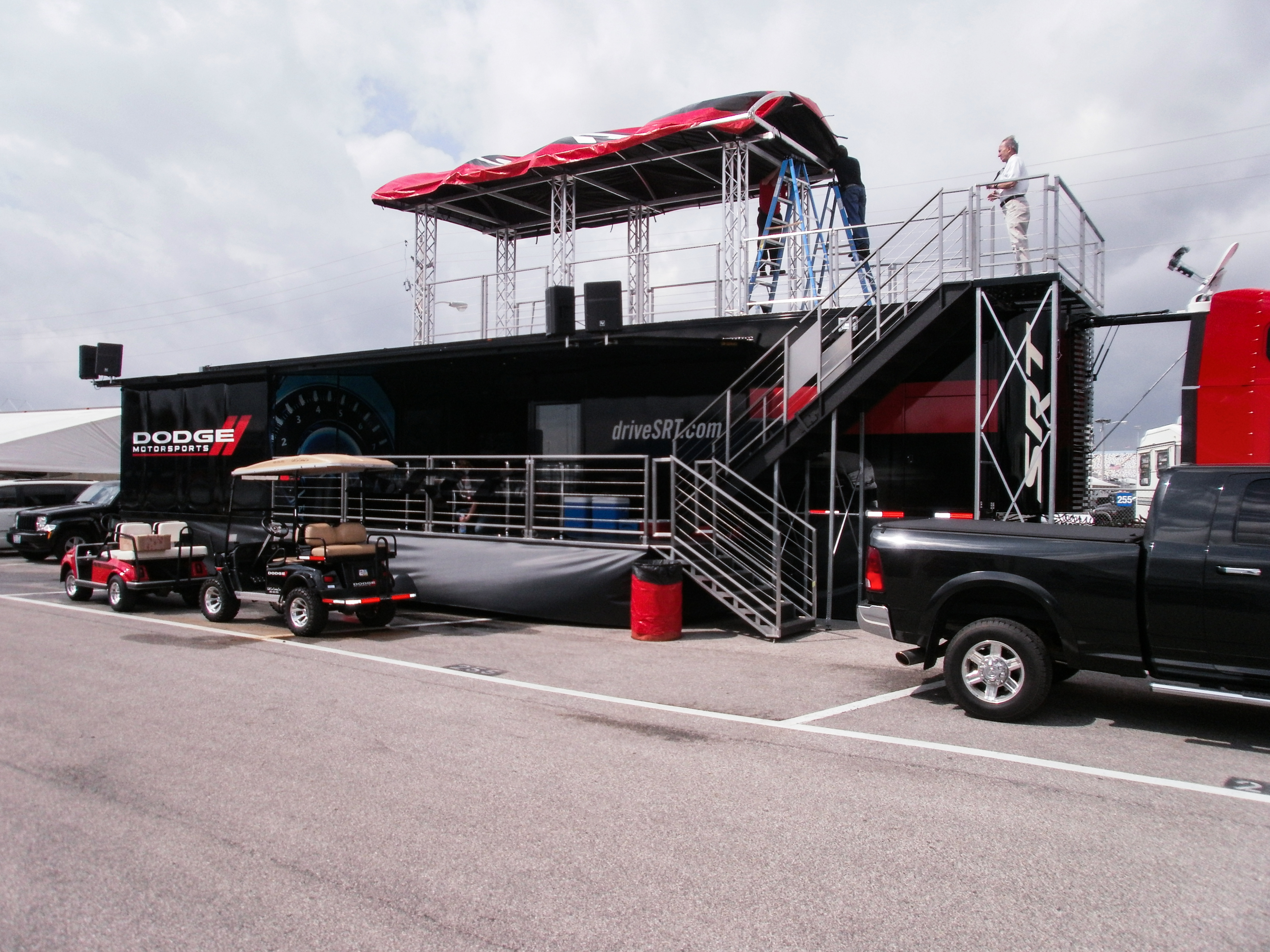 Mobile Stage Trailer