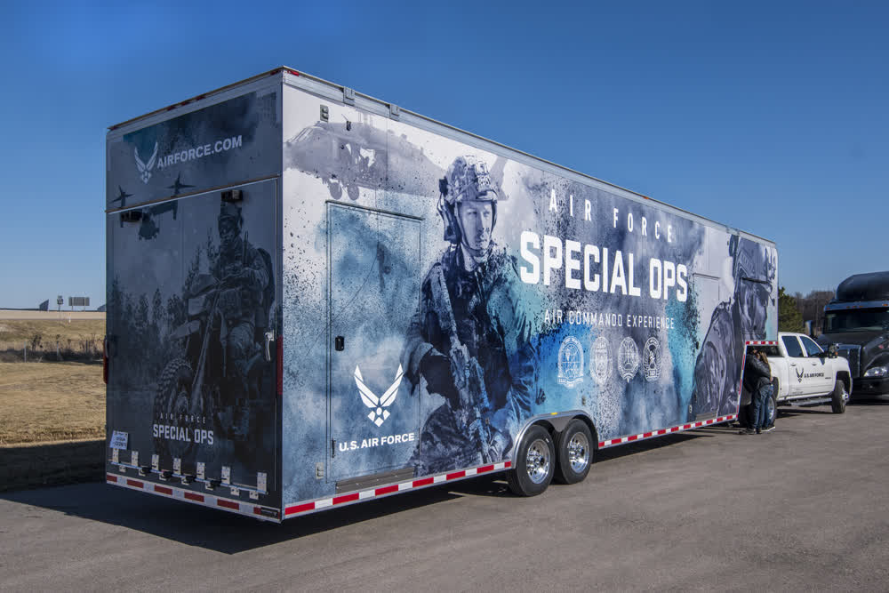 airforce special ops enclosed trailers
