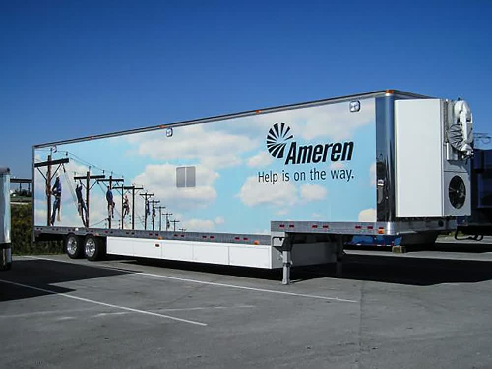 ameren enclosed trailers