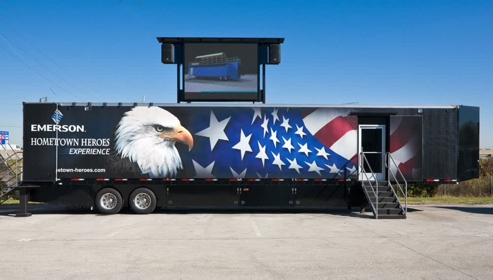 emerson enclosed trailers