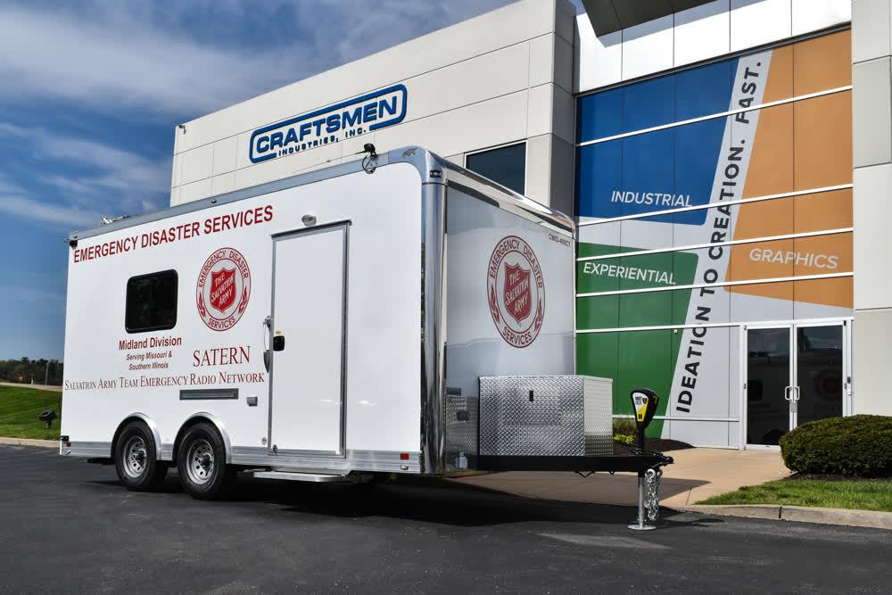 satern midland enclosed trailers