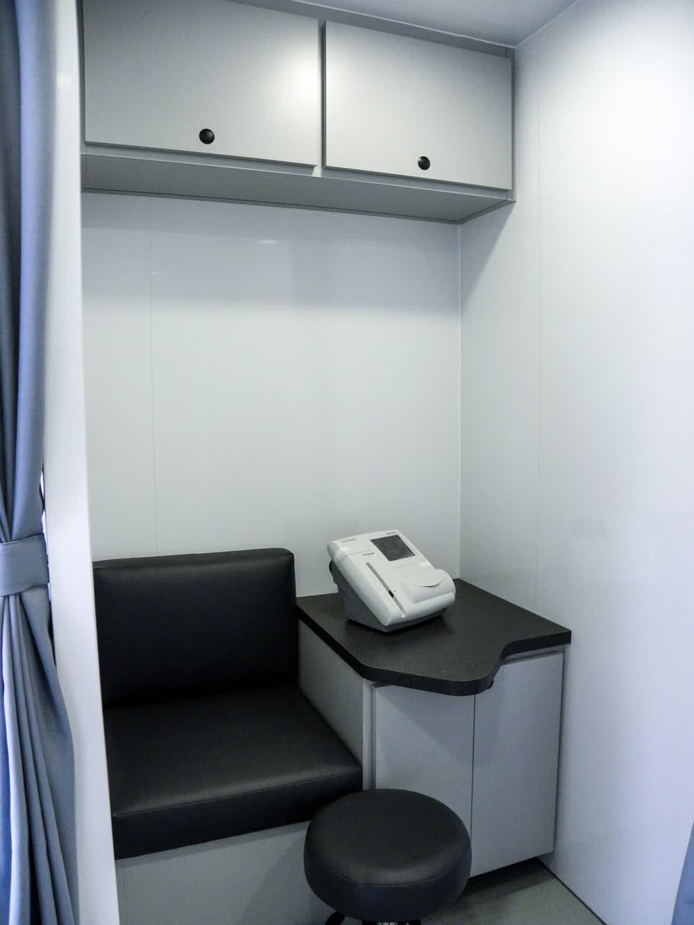 diabetes mobile medical trailer