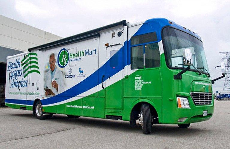 health mart mobile medical trailer