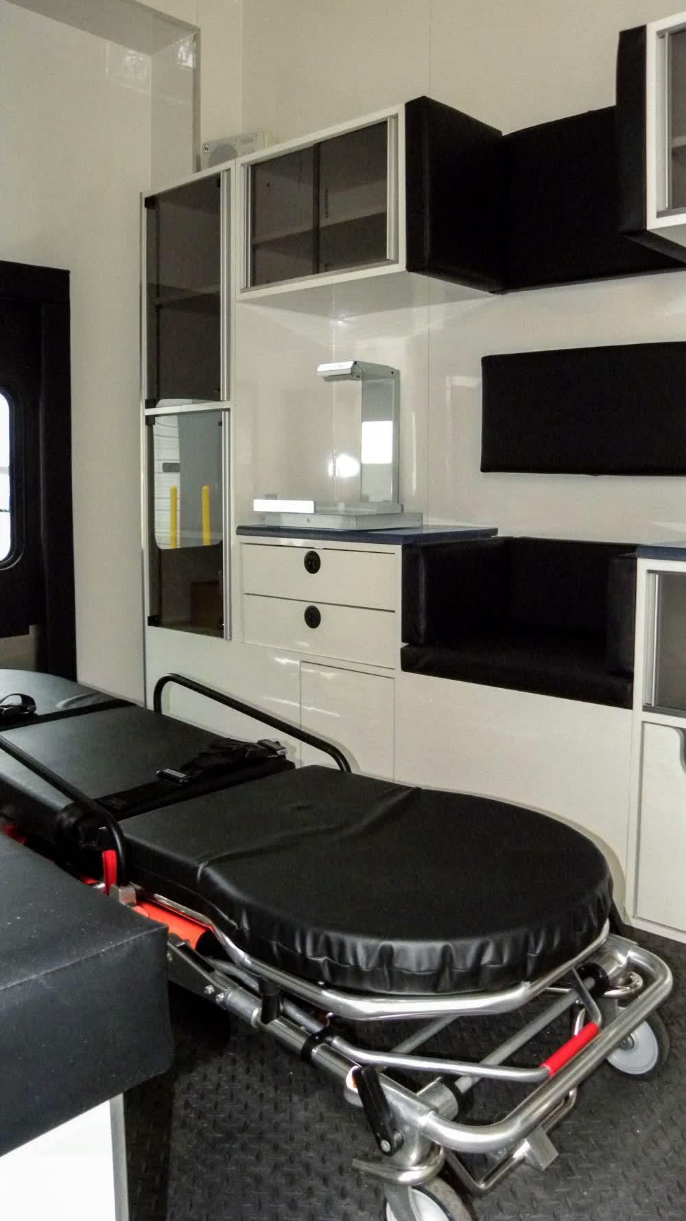 medical bed mobile medical trailer
