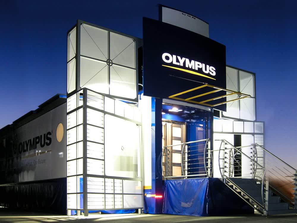 olympus hq station mobile medical trailer