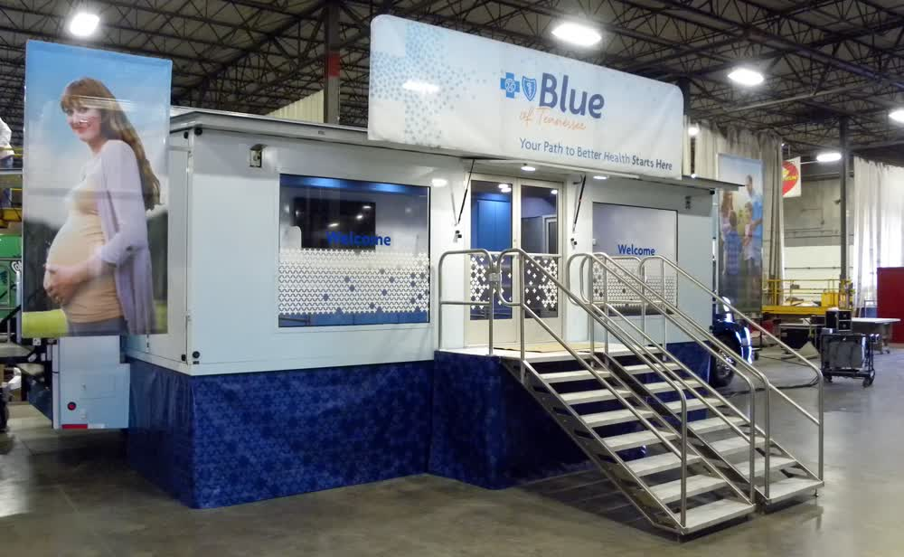 blue of tennessee mobile medical vehicles new used