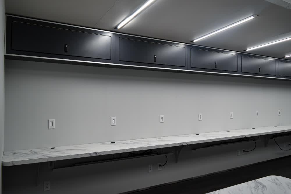 interior cabinets motorcycle trailer