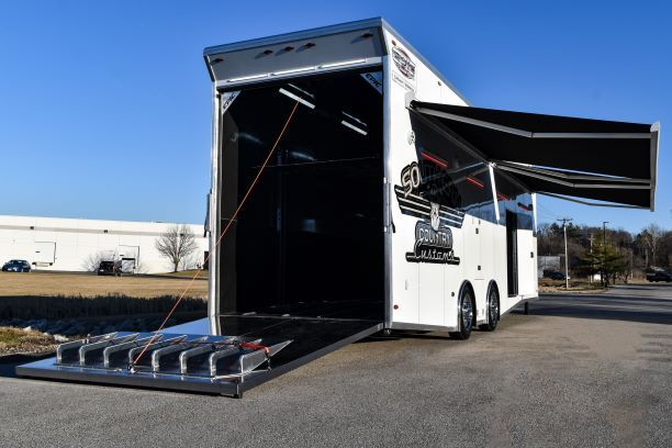 southern country customs race car trailer