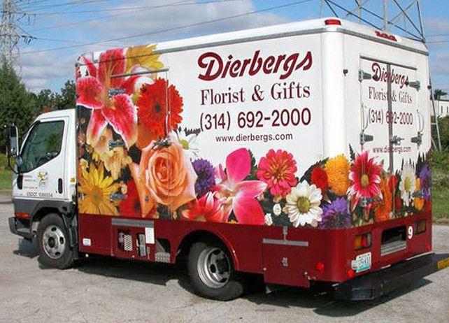 dierbergs mobile billboard truck trailer