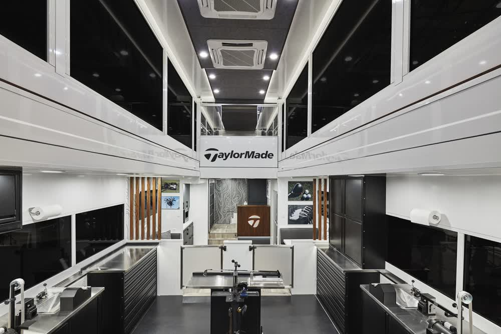taylormade double expandable trailer