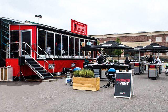 weber grills double expandable trailer