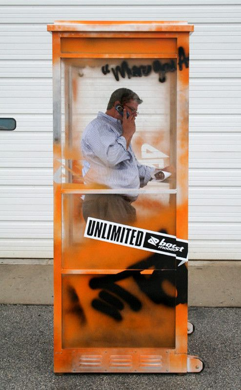 boost mobile unlimited experiential event elements
