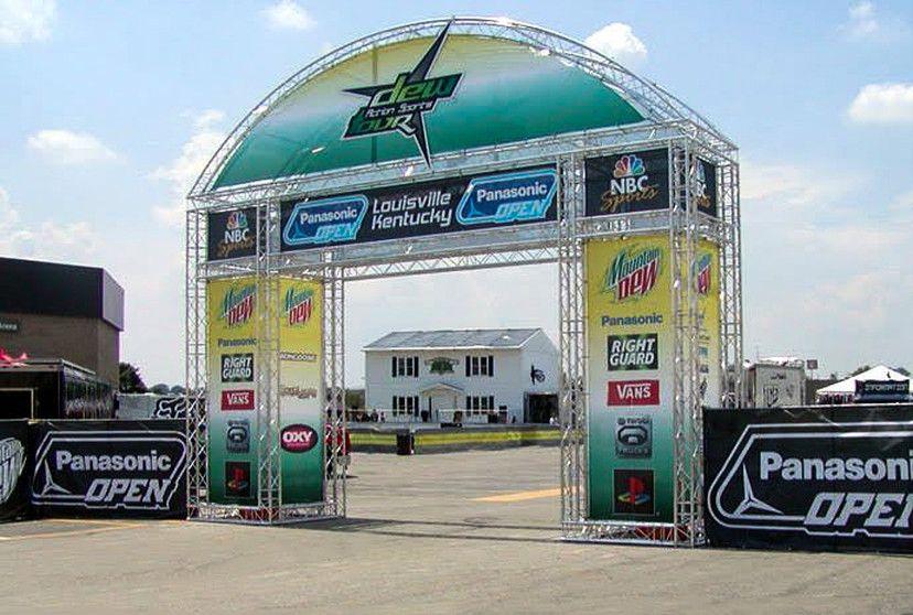 dew action sports tour experiential event elements