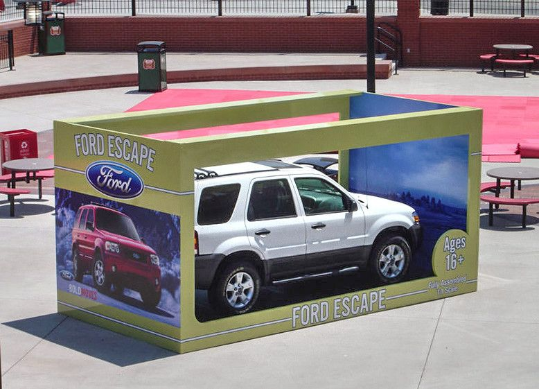 ford escape experiential event elements