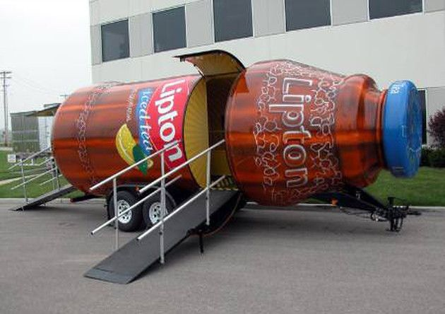 lipton iced tea experiential event elements