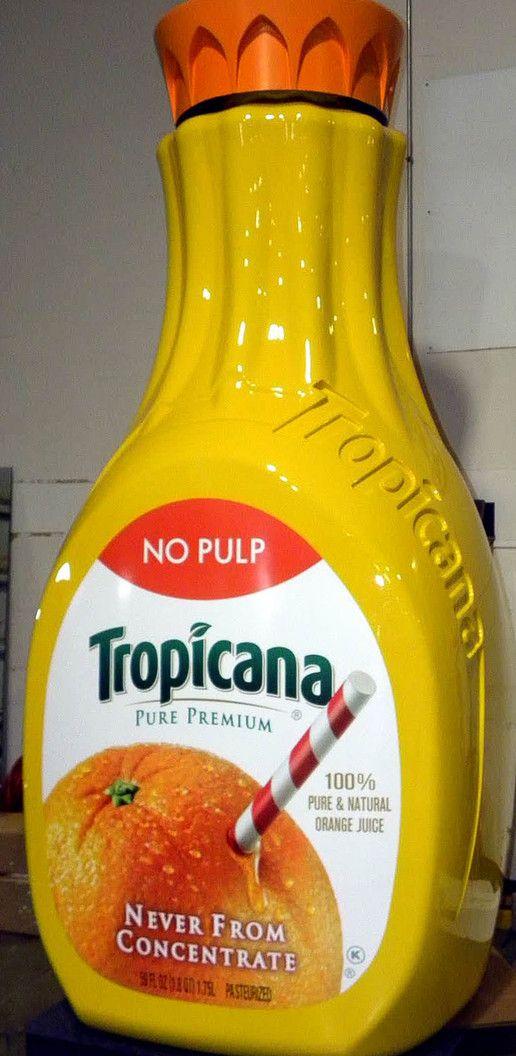 tropicana orange juice experiential event elements