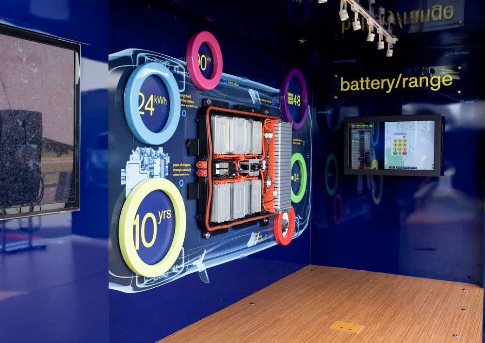 battery range kwh event promotional vehicles trailers