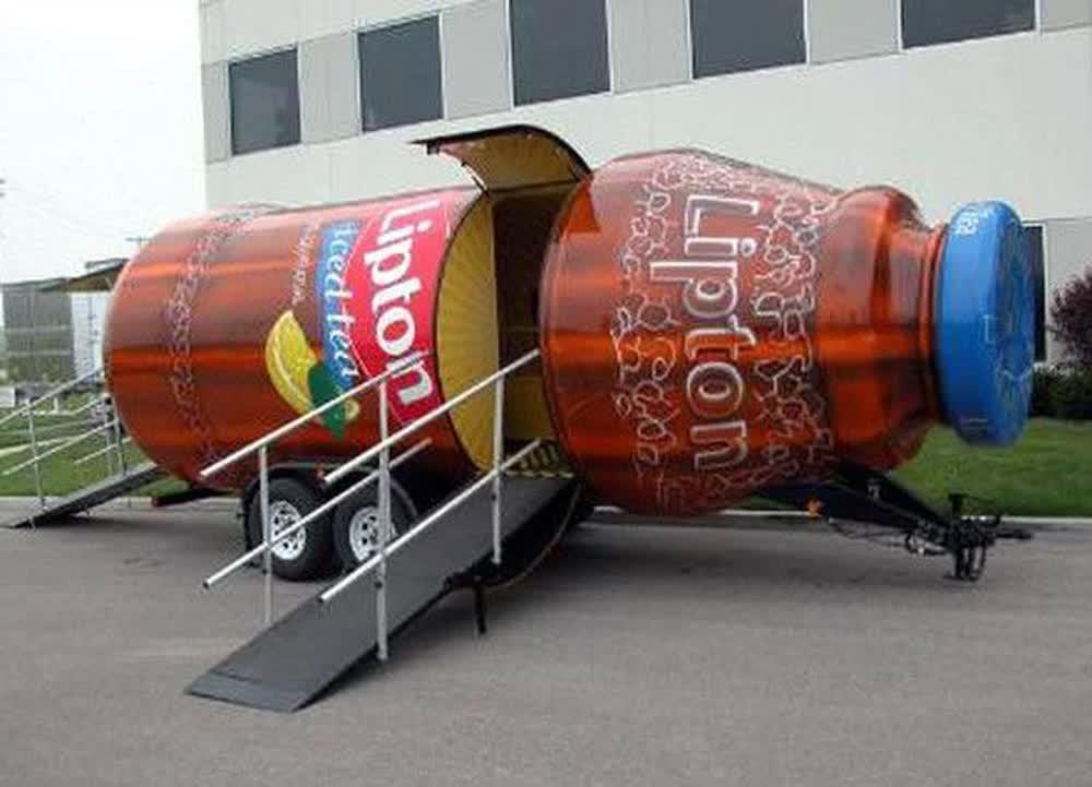 lipton-iced-tea-event-promotional-vehicles-trailers