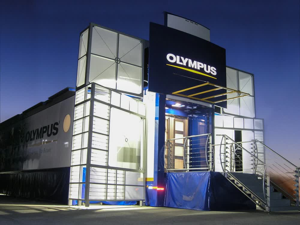 olympus hq event promotional vehicles trailers