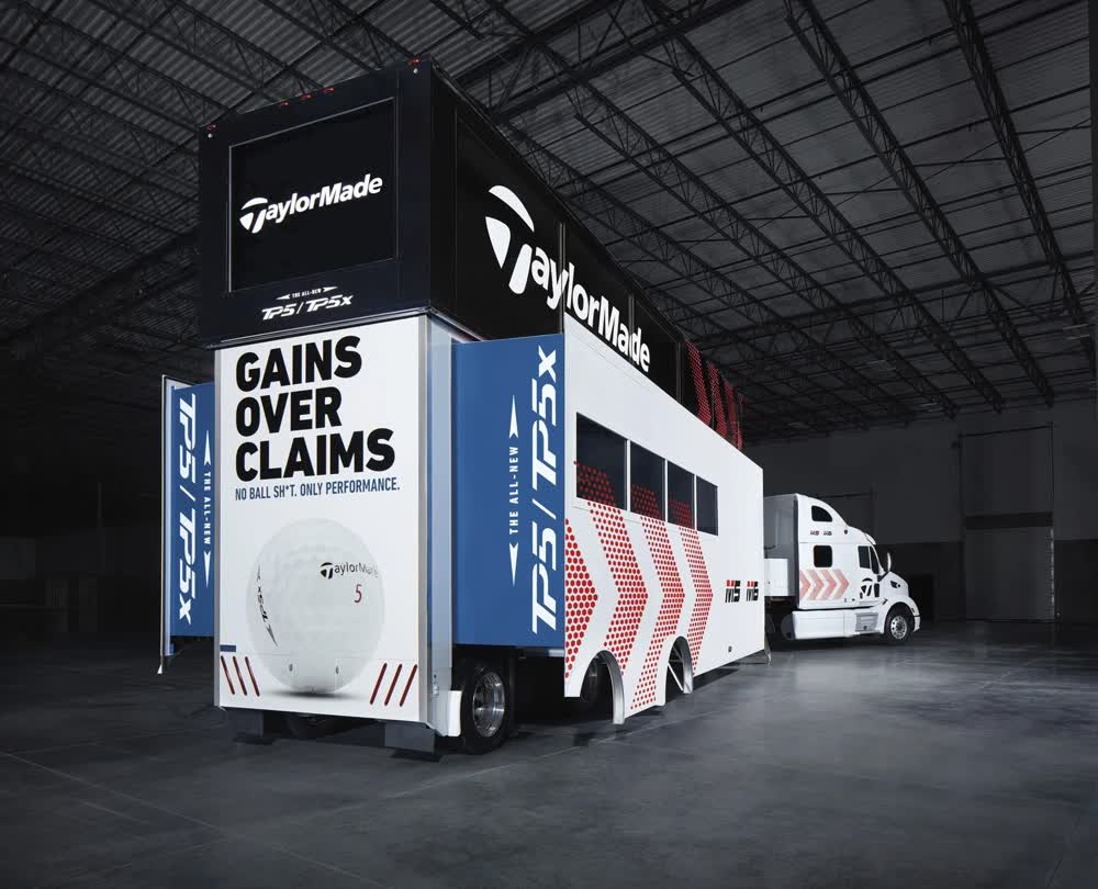 taylormade gains over claims event promotional vehicles trailers