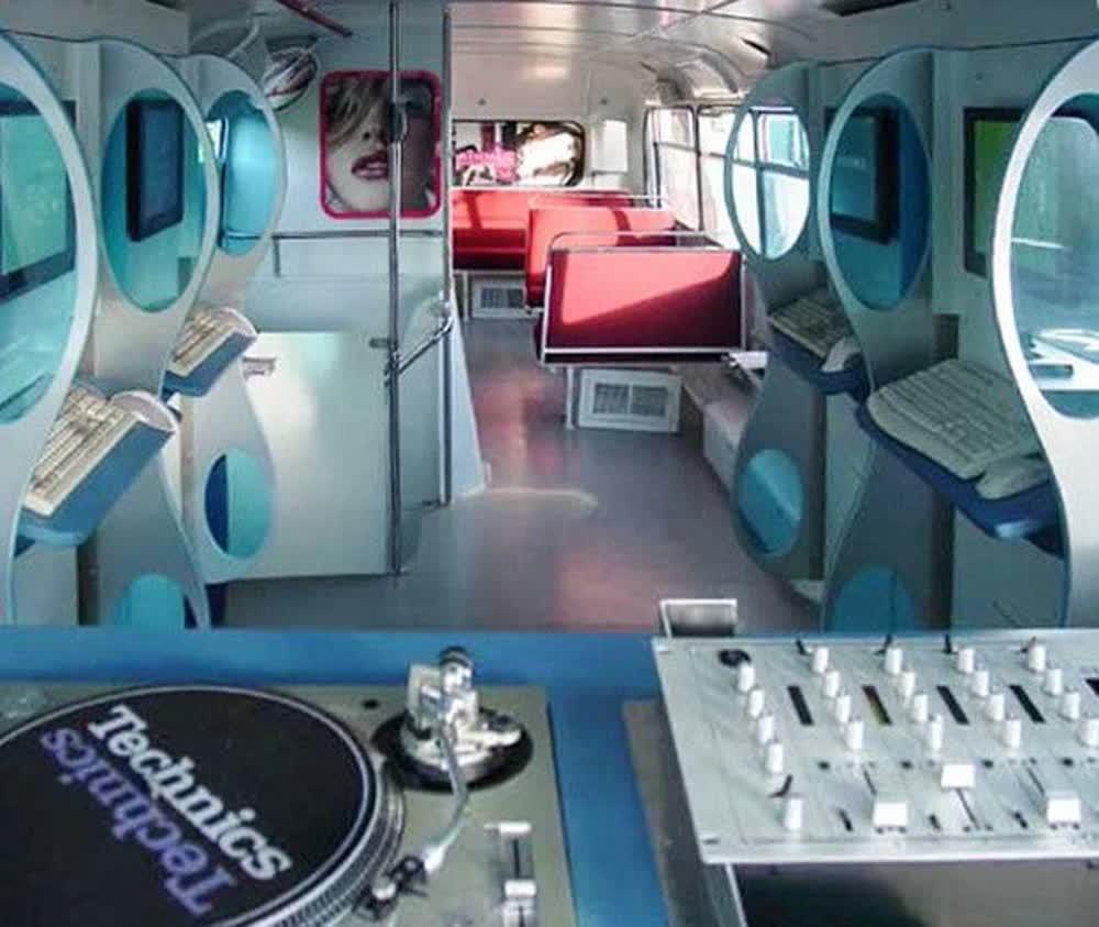 technics event promotional vehicles trailers