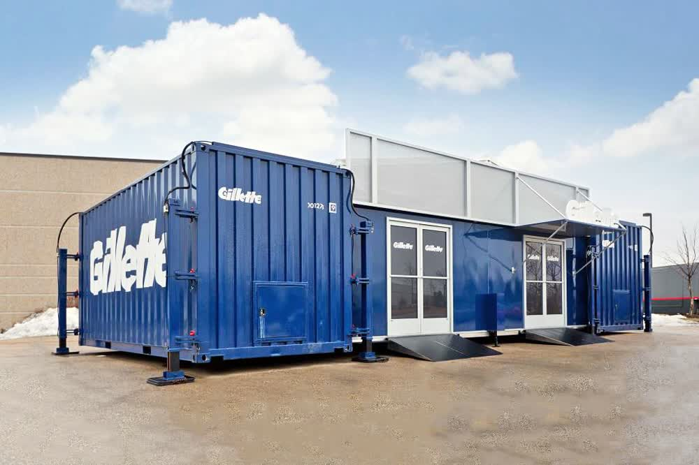 gillette shipping container conversion