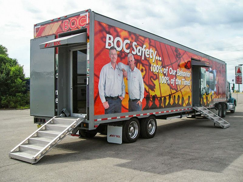 boc safety experiential training vehicles