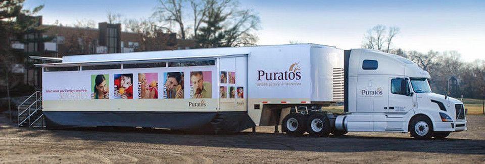 puratos experiential training vehicles