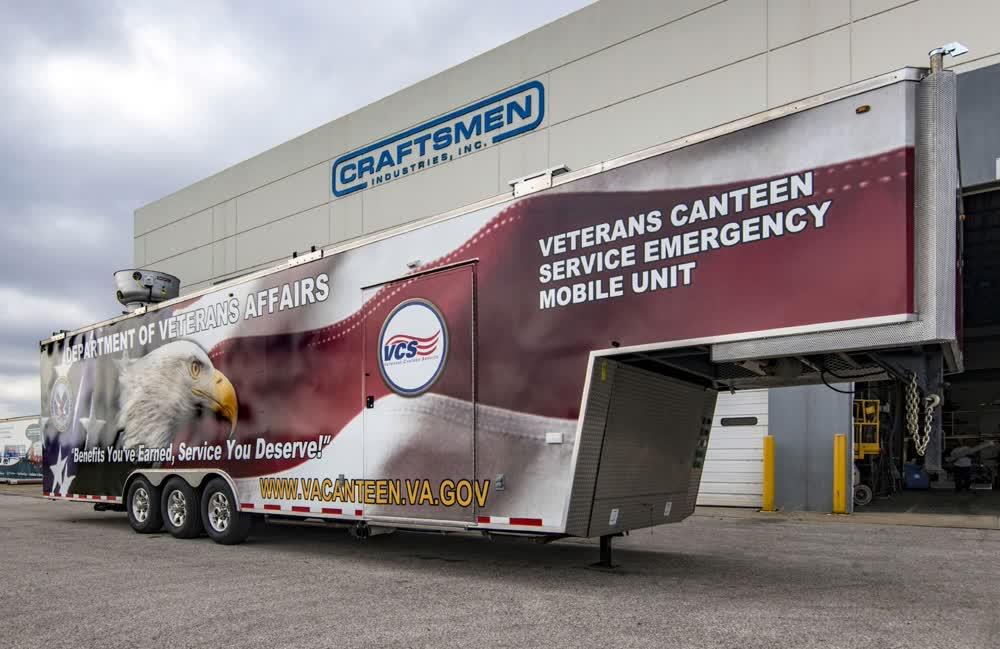 veterans canteen concession trailer