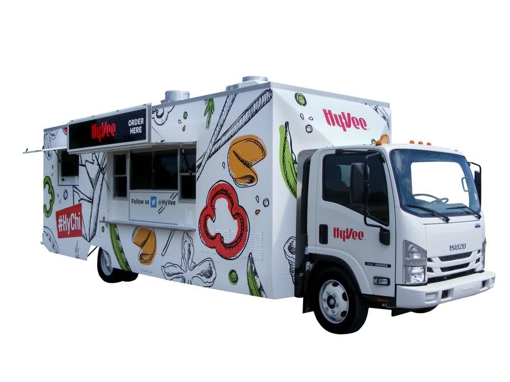 hyvee custom food truck builders