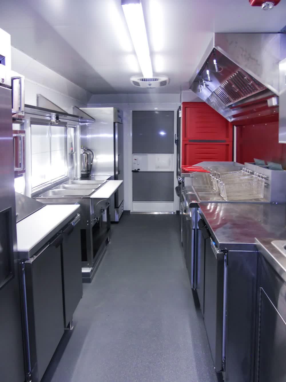 interior custom food truck builders