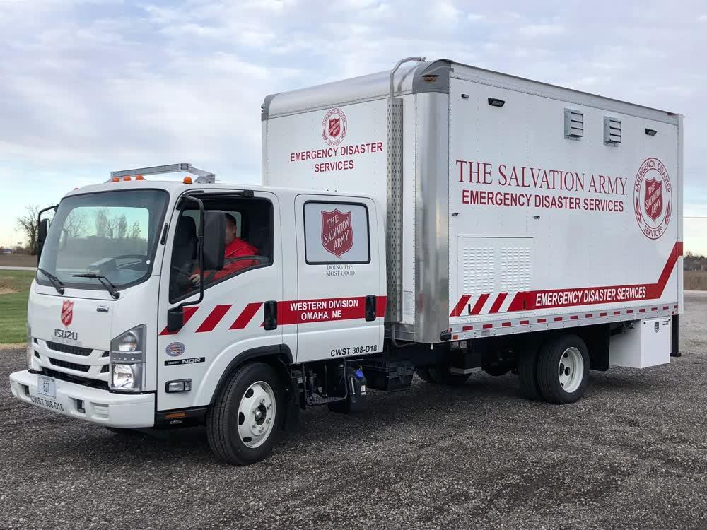 the salvation army custom food truck builders