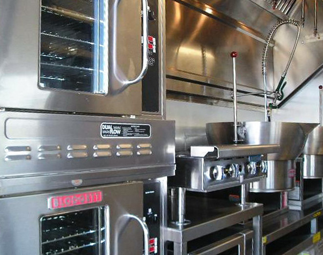 blodgett dual flow commercial mobile kitchen trailer truck