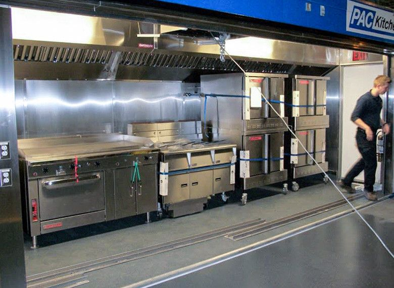 pac kitchen commercial mobile kitchen trailer truck