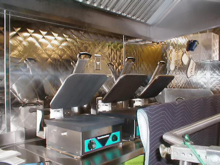 panini press commercial mobile kitchen trailer truck