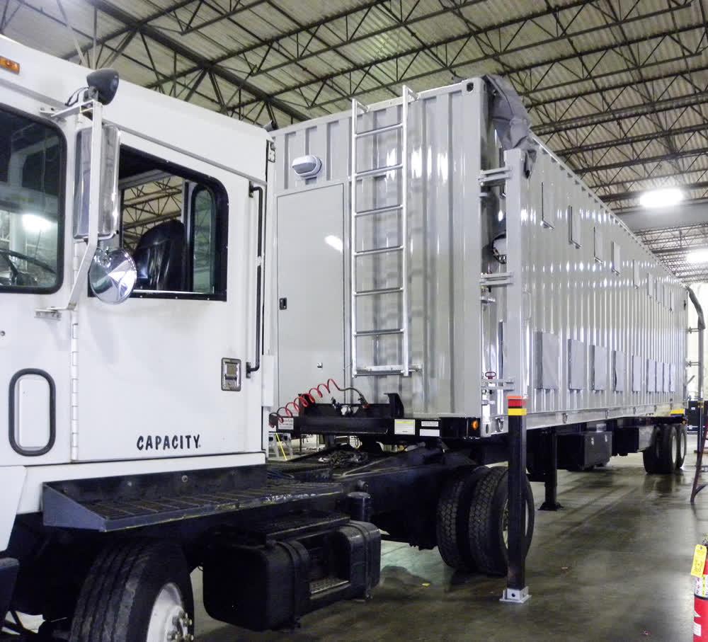 towable commercial mobile kitchen trailer truck