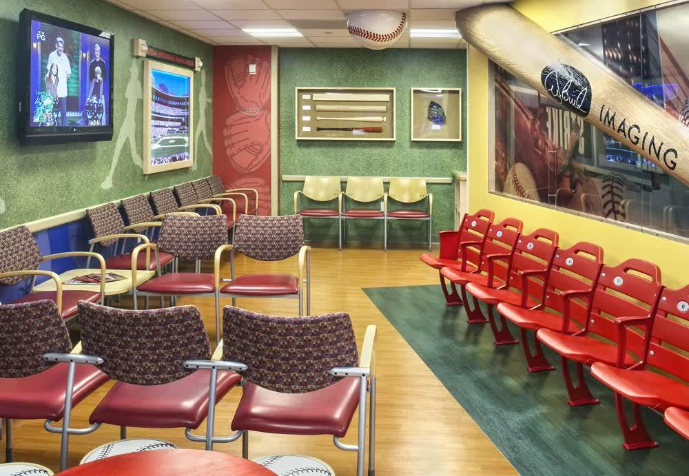 joe bucks childrens hospital architectural signage companies