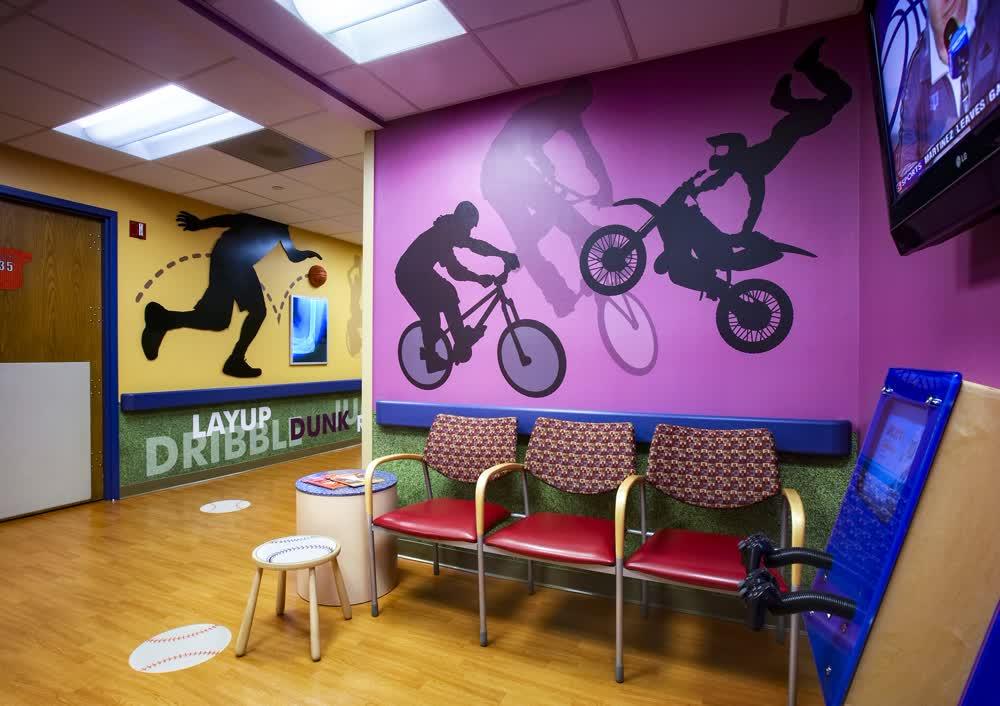 childrens hospital custom vinyl graphics