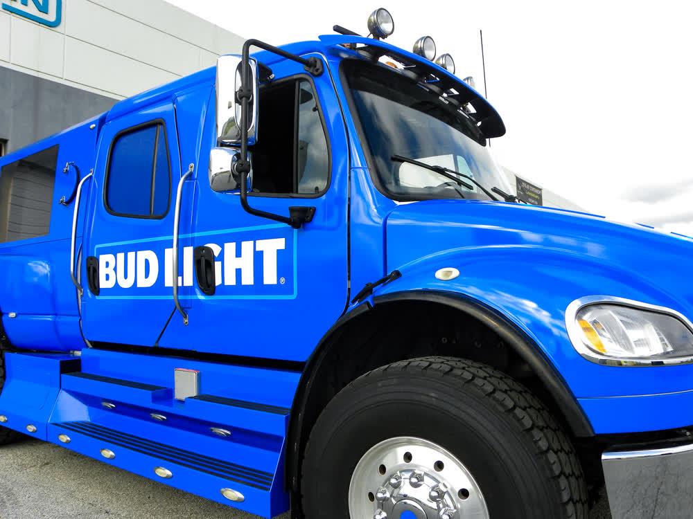 bud light fleet graphics