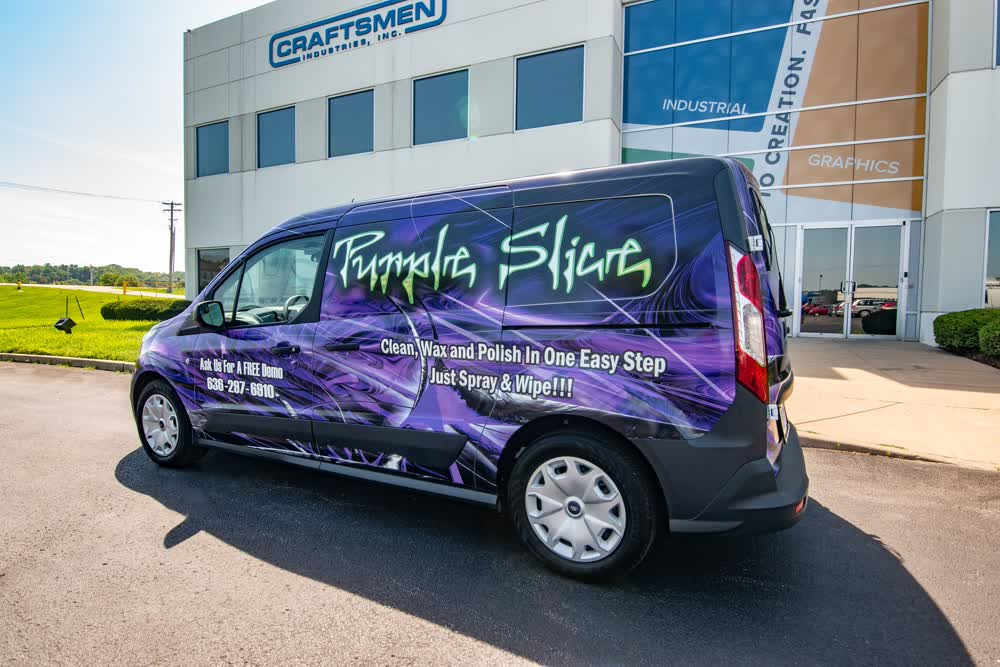 purple slice fleet graphics