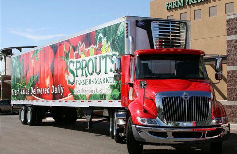 sprouts farmers market fleet graphics