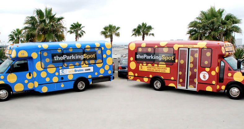 the parking spot fleet graphics