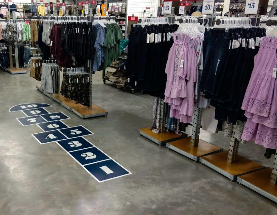 hopscotch floor graphics