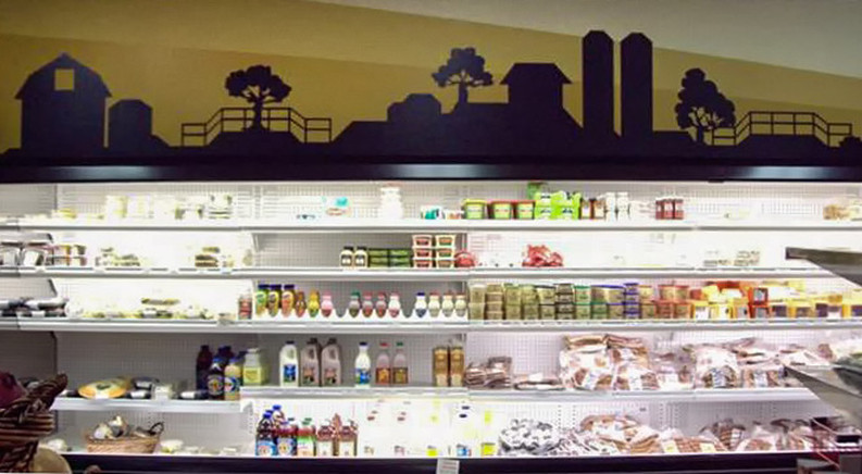 dairy retail graphics