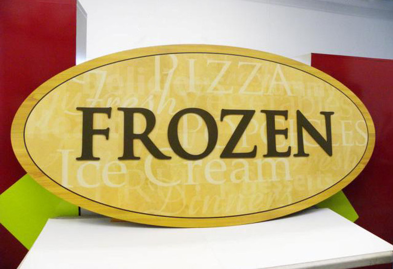 grocery signs retail graphics