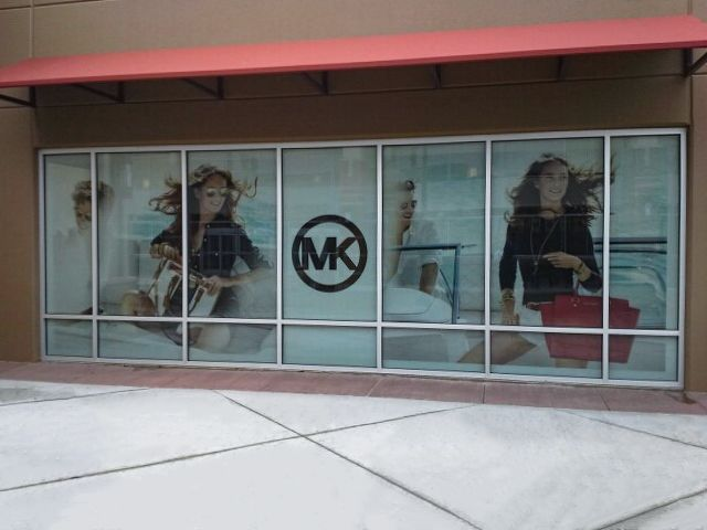 michael kors retail graphics