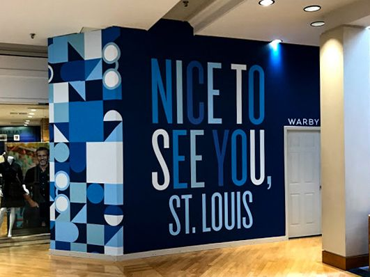 warby parker graphics retail graphics