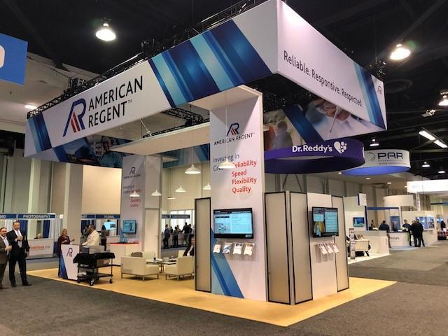 american regent trade show displays